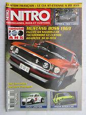NITRO N° 204 /MUSTANG BOSS 1969/IMPERIAL '68 CAB/FALCON 64/THUNDERBIRD 63/ROADST