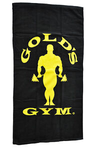 Gold´s Gym Fitness Handtuch Sport Tuch Workout Training Towel Muscle Joe