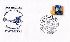 Permanent Commerative Pictorial Postmark - Cockatoo 1 Oct 1998 - 45c