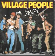 "45 TOURS / 7"" SINGLE--VILLAGE PEOPLE--SLEAZY/ SAVE ME--1979"