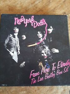 NEW YORK DOLLS FROM HERE TO ETERNITY LIVE BOOTLEG BOX SET 3 CD 1973-84
