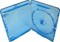 100 X Amaray Blue Blu-Ray DVD Cases - Quality