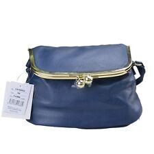 Legato Largo Official Blue Japan Fashion Shoulder Satchel Cross-Body Bag