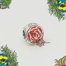 ORIGINALE Pandora, DISNEY BELLE'S incantato CIONDOLO ROSE 791575en09