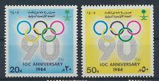 Saudi Arabien 795/96 postfrisch / Olympiade ....................................
