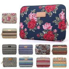 "Laptop Floral Covers 11"" 12"" 13"" 14"" 15"" 15.6"" For iPad Tablet MacBook Cases Bag"
