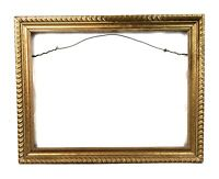 Vintage Antique Style Picture Frame Gold Gilt Gesso Baroque Fits 16 x 12