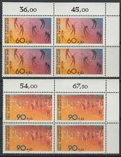 GERMANY BERLIN 1981 ** mi.645/46 bl/4 sport marathon GYMNASTIQUE [da215]