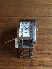 Herren Armani AR 0145 Quarz Kleid Armbanduhr mit SS Band WC21