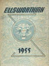 High School Yearbook South Windsor CT Ellsworth Memorial HS Ellsworthian 1955