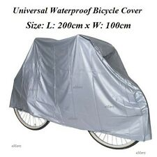 LARGE WATERPROOF CYCLE BICYCLE BIKE COVER RAIN RESISTANT 200x100cm BIKE COVER