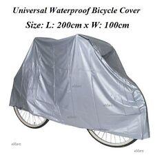 LARGE WATERPROOF CYCLE BICYCLE BIKE COVER RAIN RESISTANT 200x100cm BIKE COVER