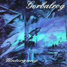 GORBALROG - Untergang - Promo CD - NEU - Black Metal
