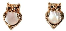 NWT KATE SPADE OWL STUD EARRINGS WITH KATE SPADE POUCH STOCKING STUFFER