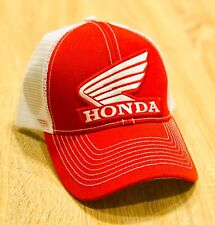 Honda FACTORY RACING HAT CAP BMX BIKE TRUCKER BK BRAND RED MX YZF YFZ RI R6