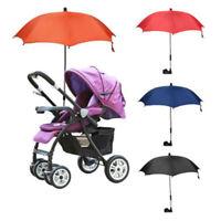Baby Kid Umbrella Parasol Buggy Pushchair Pram Stroller Shade Canopy Rain  ADE