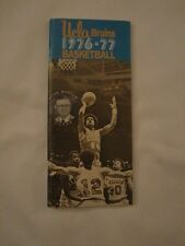 UCLA Bruins Basketball Guide 1976-77