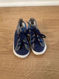 Gymboree Fabric, 100% Cotton, Hi-Tops Shoes Baby Sz 1