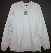 Greg Norman Mens Gray Weather Essentials Golf Pullover Jacket L