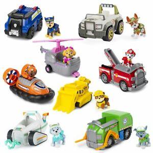 Auswahl Einsatzfahrzeuge | Basic Fahrzeuge mit Spielfiguren | Paw Patrol