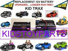CAT BULLDOZER LONG LASTING REPLACEMENT KID TRAX 12 VOLT OEM RECHARGE  BATTERY
