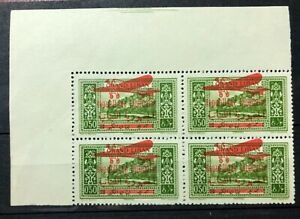 1929 Lebanon Block of 4 MNH SG.151
