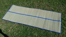 Bamboo straw mat Yoga colored trim beach home floor mat rug camping awning