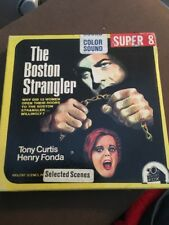 "SUPER 8 CINE FILM ""LO STRANGOLATORE DI BOSTON"" 200ft colore/Suono. TONY CURTIS."