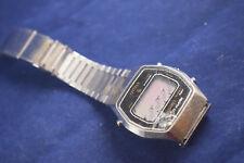 Vintage Citizen CQ stainless steel digital watch 40-1919 - Repairs RARE