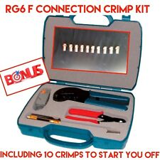 MATCHMASTER Professional Coax Cable Installers Crimping Kit 08MM-CRIMPKIT
