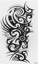 Einmal Tattoo Fake Tattoo Tribal Motiv wasserfest Temporary Tattoo (HB-522)