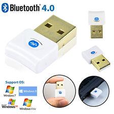 Mini clé USB Bluetooth 4.0 Dongle USB Adaptateur Sans fil PC Windows 7 Vista XP