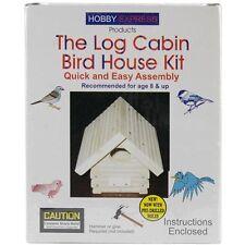 Pinepro Log Cabin Wood Bird House Kit - 133875