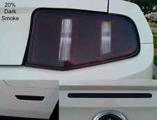 10-12 Mustang precut TailLight HeadLight-3rd brake & Side Marker smoked overlays