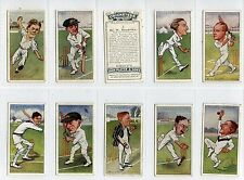 Full Set, Players, Cricketers Caricatures By RIP, 1926 (Ls406-332)