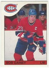 1985-86 OPC HOCKEY #169 BOB GAINEY - EX+/NRMT-