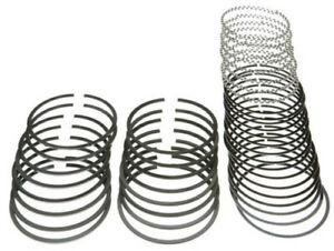 """MAHLE Clevite Piston Ring Set 315-0034.045; Plasma Moly 4.040"""" Bore File Fit"""