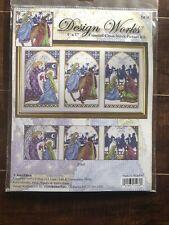Nativity Window Cross Stitch Kit Joan Elliott Christmas