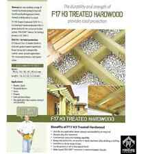 90 x 45mm F17 H3 Treated Hardwood Bearers Joists Framing $10.30plm