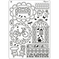 Pergamano parchemin craft multi grille 36-summer garden 31445