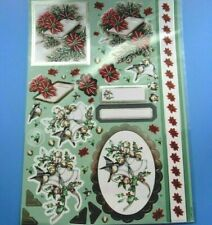 Hallmark Anita'S Docrafts Foiled Decoupage Sticker Embellishment Christmas Bible