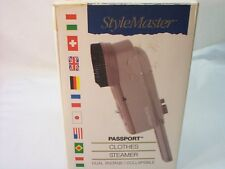 STYLEMASTER PASSPORT CLOTHES STEAMER NEW IN BOX