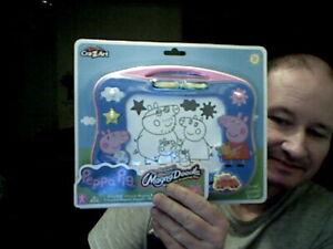 KIDS PEPPA PIG MAGNA DOODLE ETCH A SKETCH VARIANT BIRTHDAY CHRISTMAS DOODLING