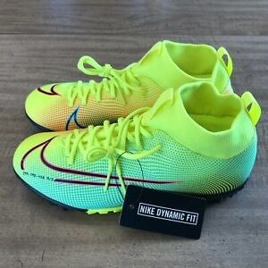 NEW Nike Superfly 7 MDS02 TF JR Volt Soccer Turf Shoes BQ5407-703 Youth Size 5Y