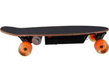 Electric Powered Skateboard 100w Remote 10mph 12v Battery Wood Deck Belt Drive