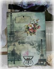 "~ Vintage ""Jardins de Paris""~Shabby Chic~Country Cottage style~Wall Decor Sign ~"