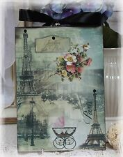 "Vintage ""Jardins de Paris"" ~ Shabby Chic Country Cottage style Wall Decor Sign"