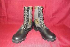 Military 10 Regular Green Jungle Combat Boots USGI Men Boys Vietnam Vintage 375