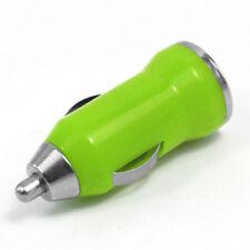 USB Car Charger Adaptor Plug 12V Green