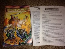 Warhammer Shadow of the Rat PC Replacement Manual & Supplement only NO GAME